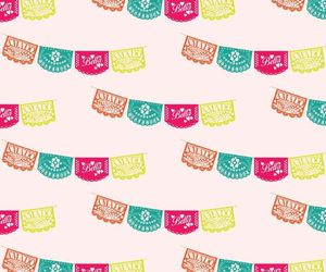 mexican, backgrounds, and papel picado image