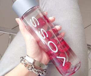 voss, water, and healthy image