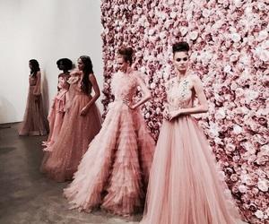 fashion, beauty, and flowers image