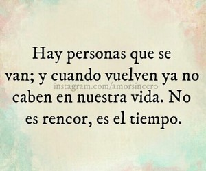 frases, tiempo, and rencor image