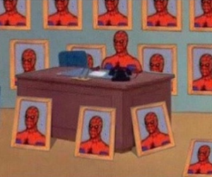 meme and spiderman image