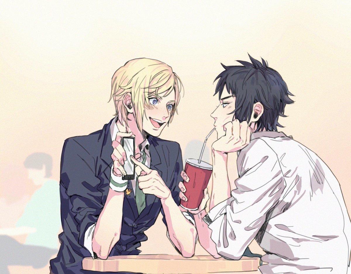 phone, anime boy, and noctis lucis caelum image