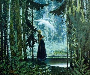 forest, illustration, and woods image