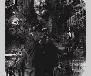 background, batman, and joker image