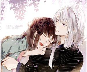 anime, couple, and kayo image