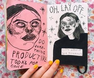 art, art journal, and artist image