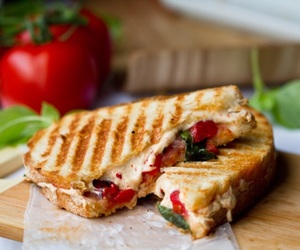 food, sandwich, and fit image