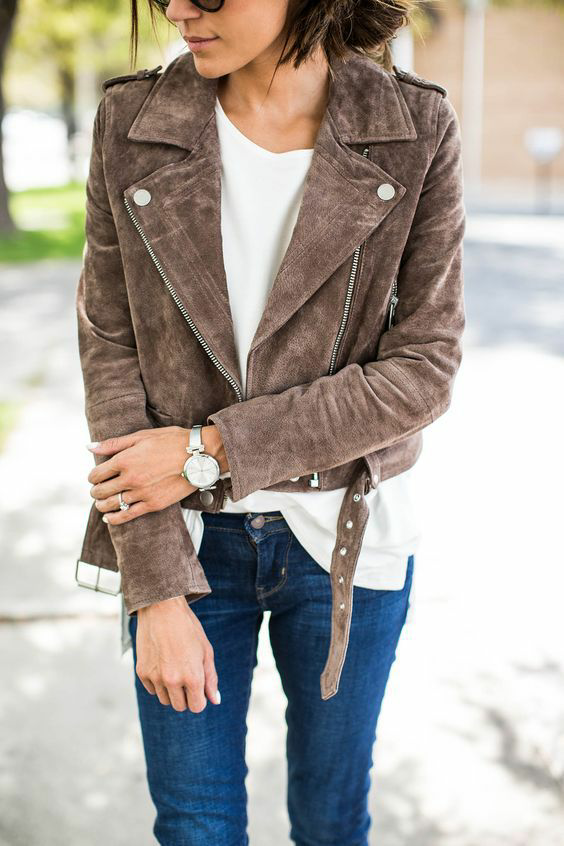 fashion, brown, and jacket image