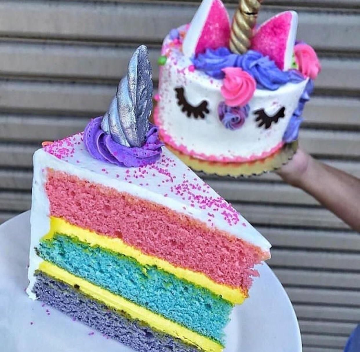 cake and unicorn image