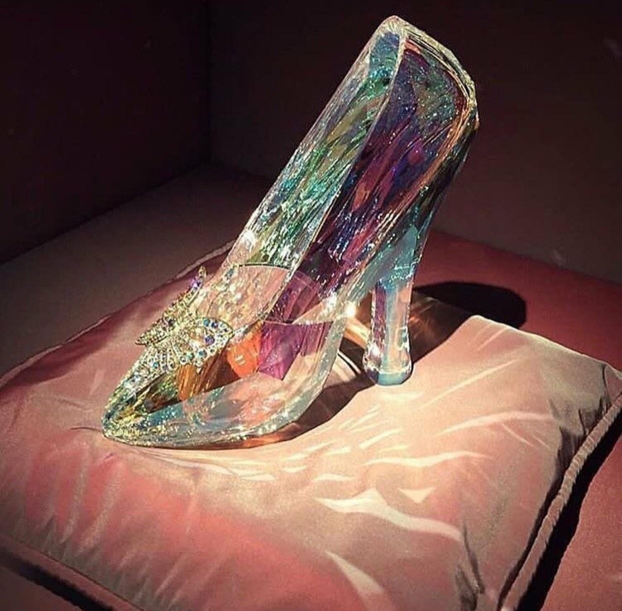 cinderella, crystal, and princess image