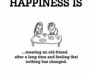 happiness, friends, and quotes image