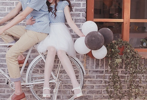 love, couple, and kfashion image