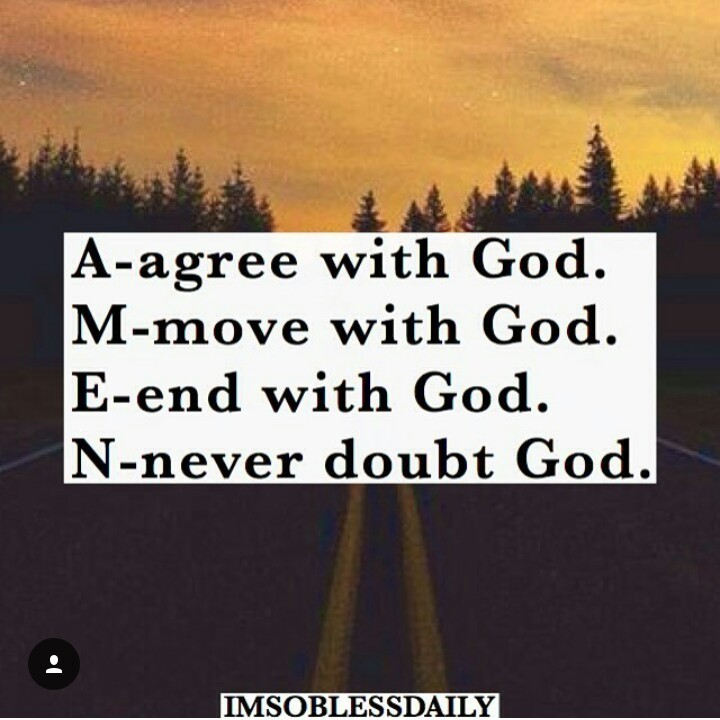 amen, i love jesus, and never doubt image