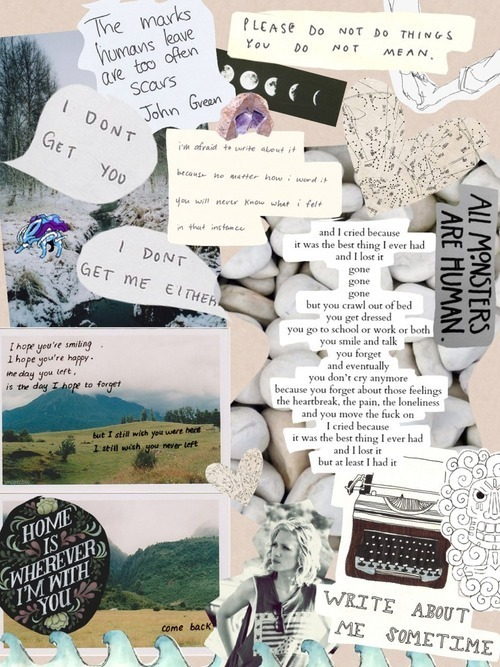 Collage and tumblr image