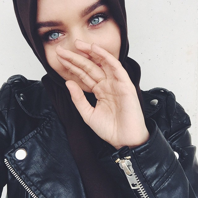 hijab, eyes, and beauty image