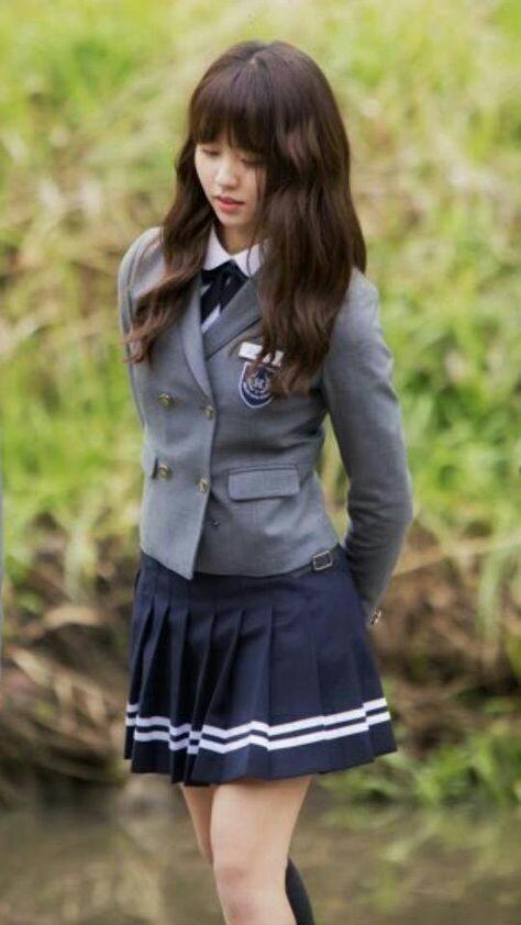 school girl and school uniform image