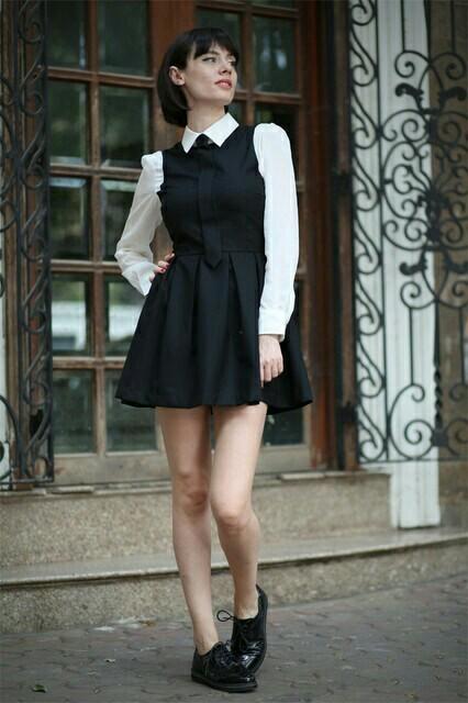 girl, schoolgirl, and school uniform image