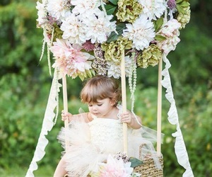 flower girl, lovely, and photo image