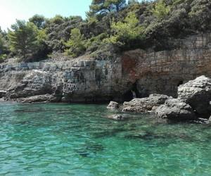 Croatia, paradise, and swimming image