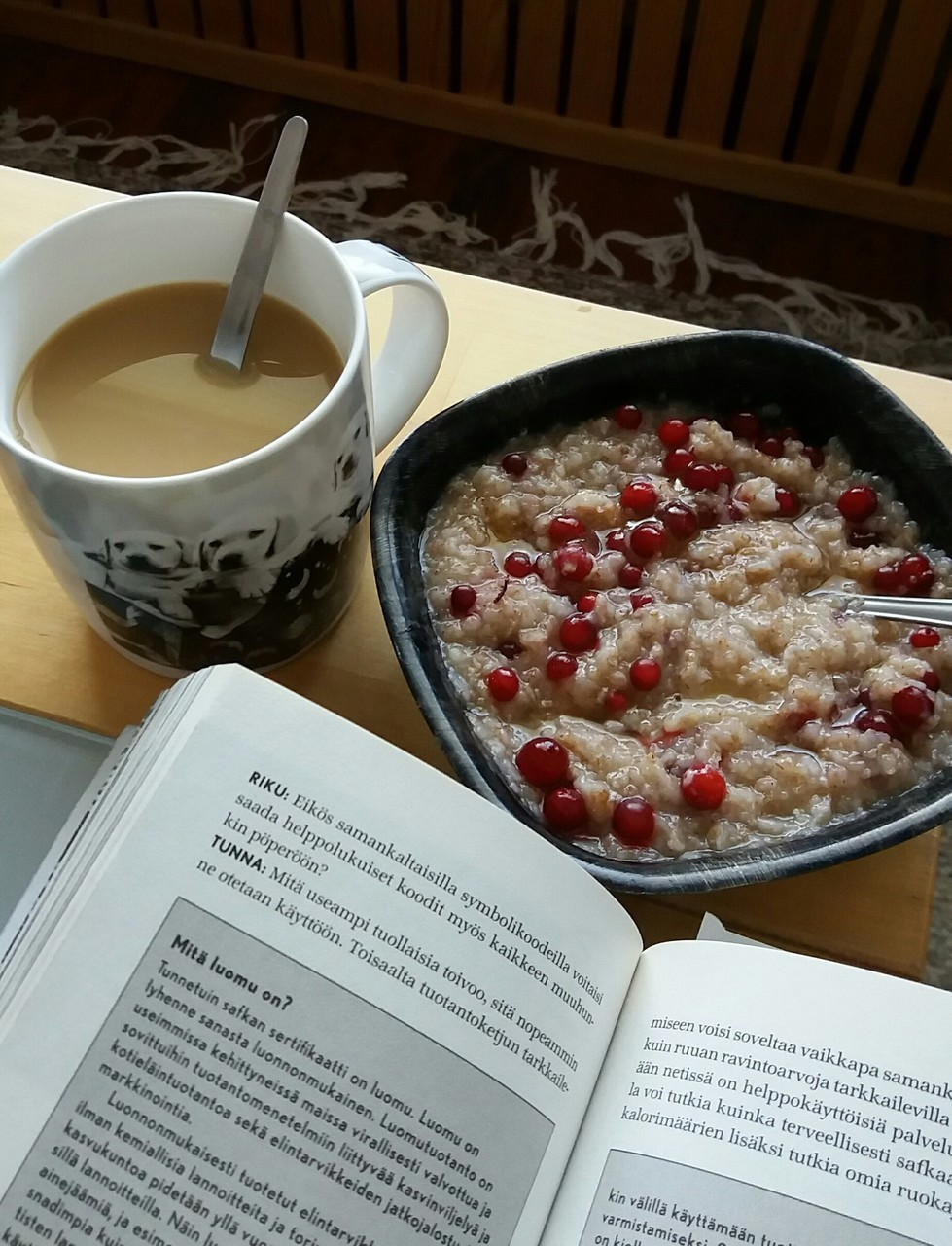 berry, coffee, and hungry image