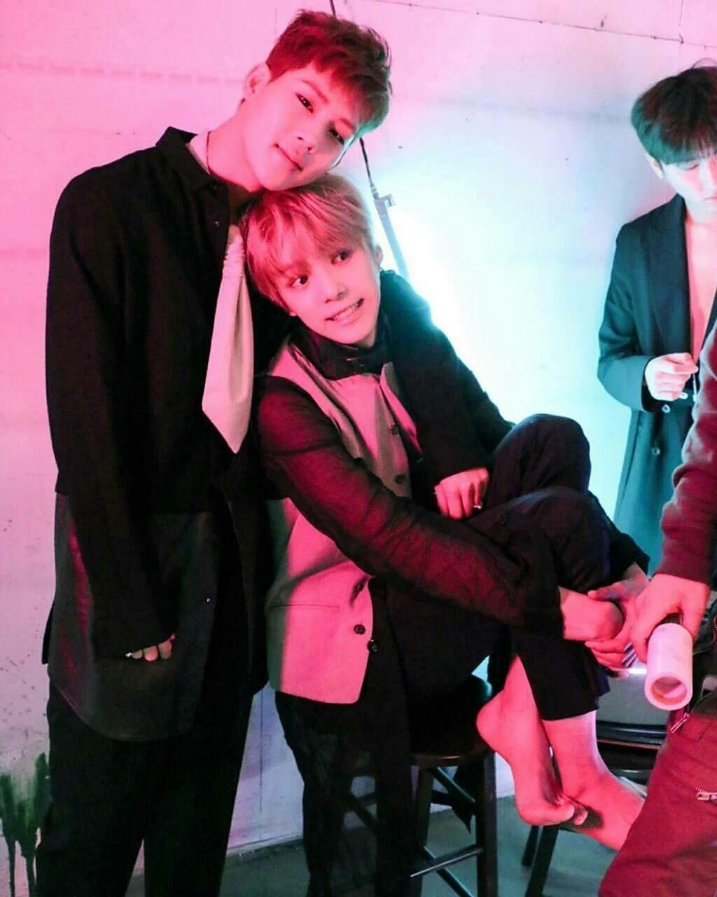 monsta x, minhyuk, and jooheon image