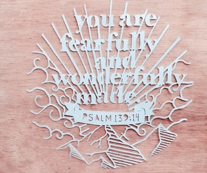 Mantra, note to self, and psalms image