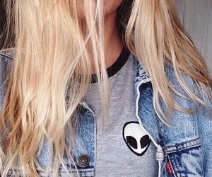 girl, fashion, and alien image