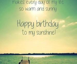 birthday, couple, and sunshine image
