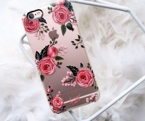 apple, rose, and white image