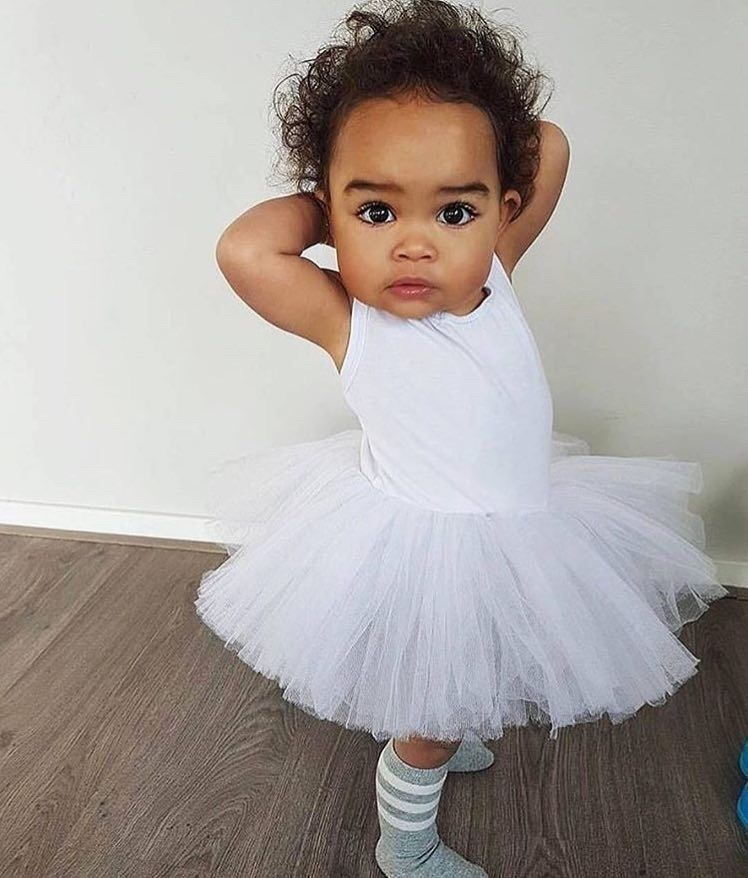 baby, ballerina, and cute image