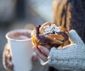 coffee, food, and winter image