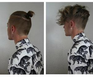 hair, boy, and Hot image