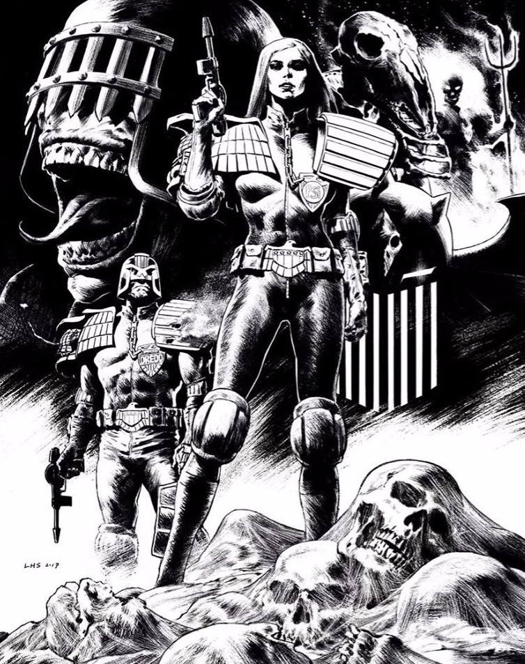 comics and 2000AD image