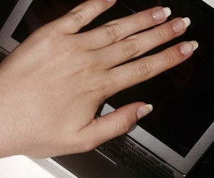 longnails, lovethisnails, and frenchmanicure image