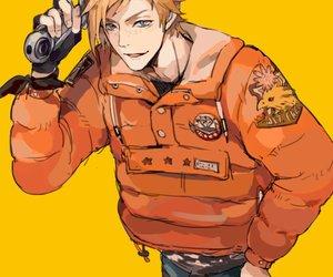 anime boy and final fantasy xv image
