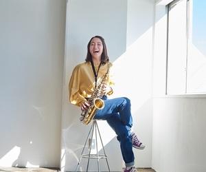 saxophone and 吉岡里帆 image