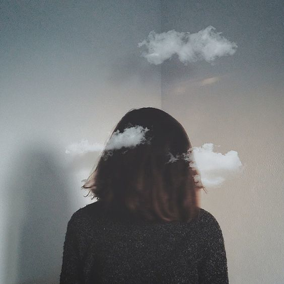 aesthetic, clouds, and tumblr image