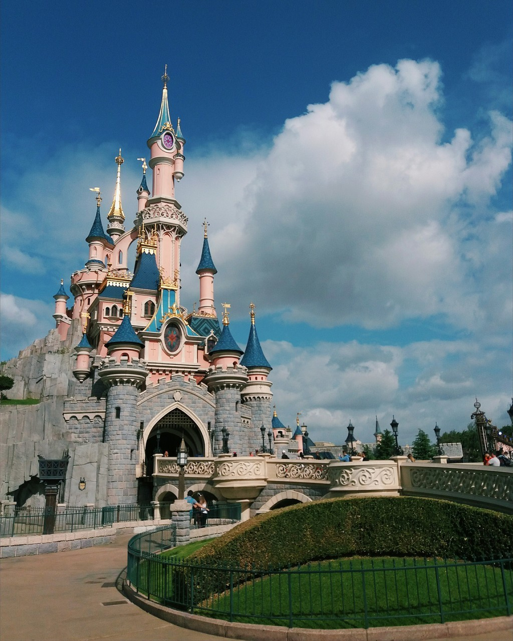 beautiful, castle, and childhood image