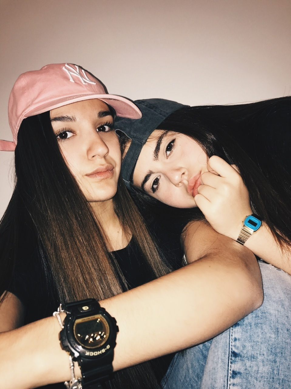best friends, besties, and girls image