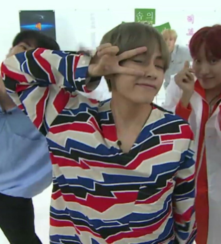 her, taehyung, and v image