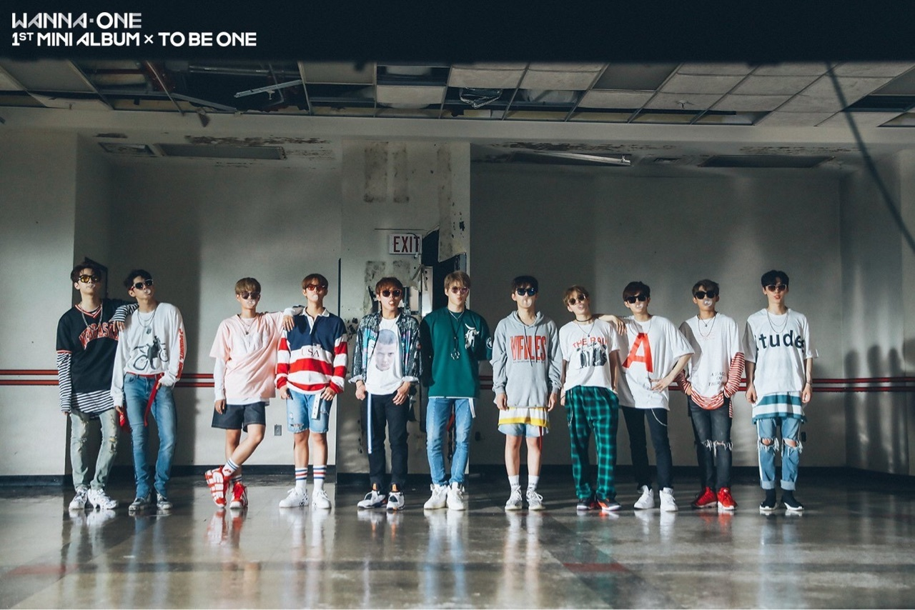 wanna one and produce 101 image