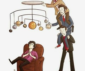 sherlock and doctor who image