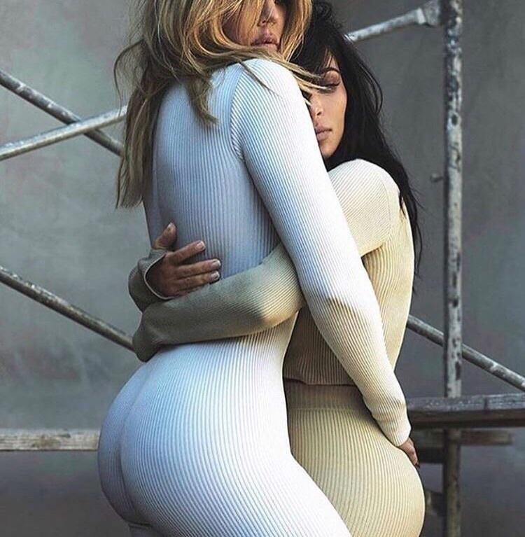 kim kardashian, khloe kardashian, and sisters image