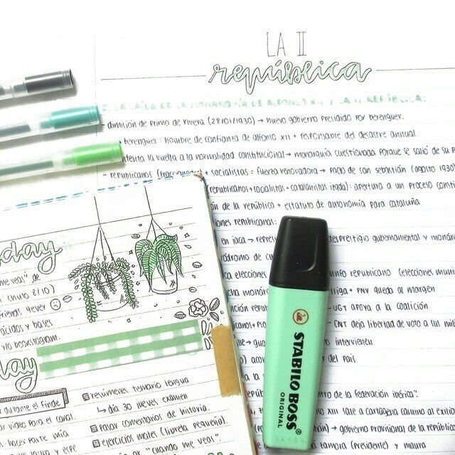 school, pens, and study image