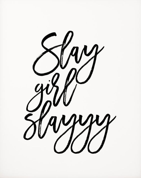 quotes, slay, and inspiration image