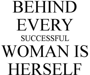 successful and woman image