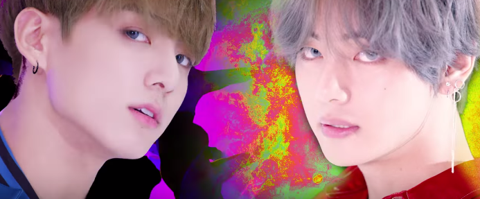 DNA, taehyung, and bts image