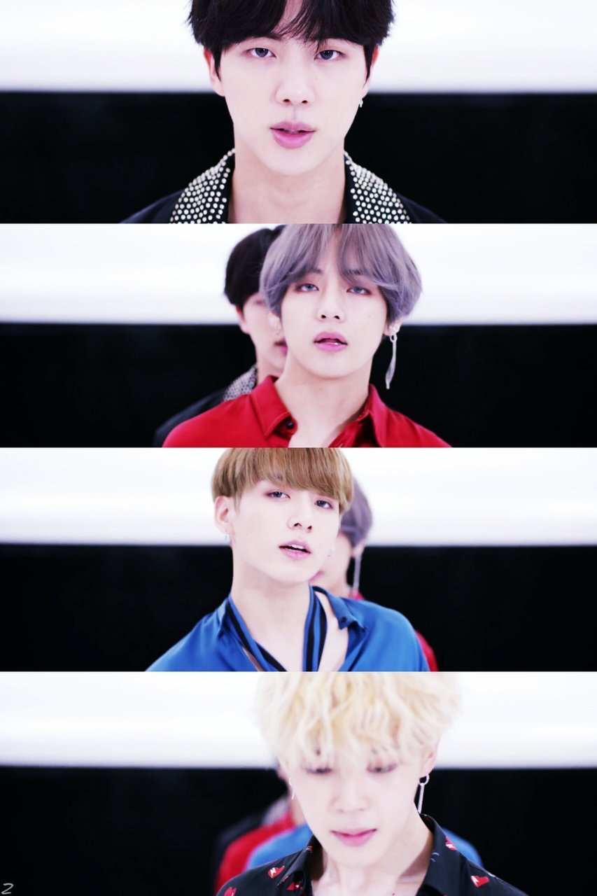 DNA, her, and bts image