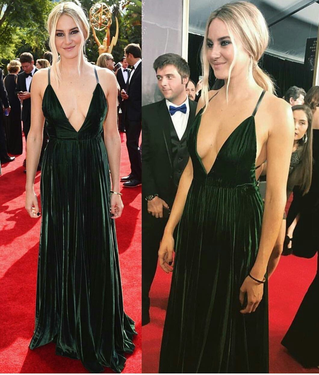 muoti tyylejä erotuskengät katsella Shailene Woodley en la Red Carpet on We Heart It