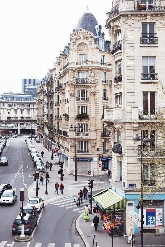 paris, architecture, and street image